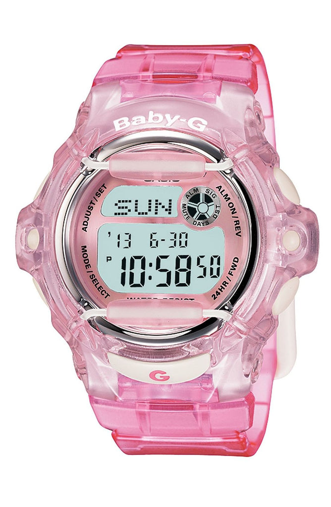 Casio Baby-G Pink Whale Digital Sport Watch