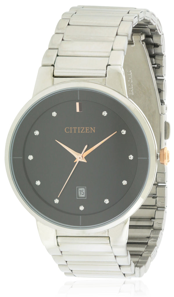Citizen Quartz Stainless Steel Mens Watch