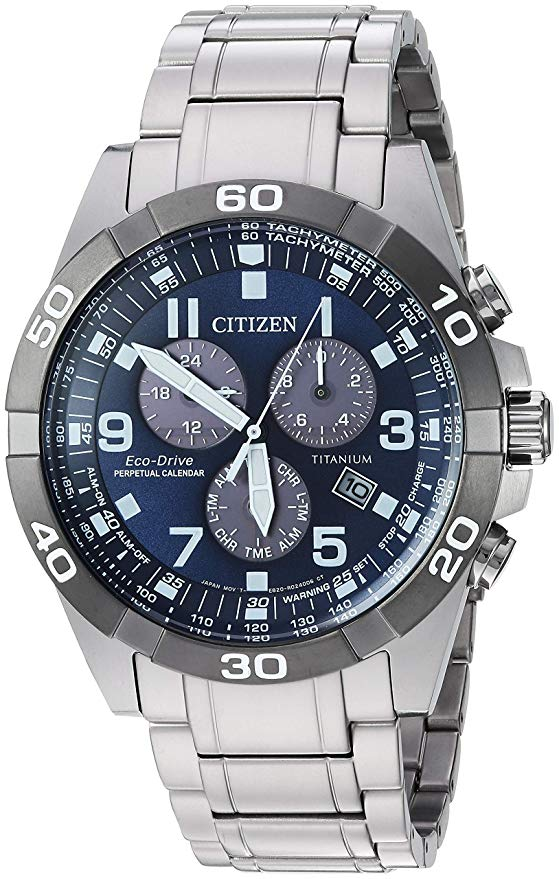 Citizen Brycen Perpetual Chronograph Mens Watch