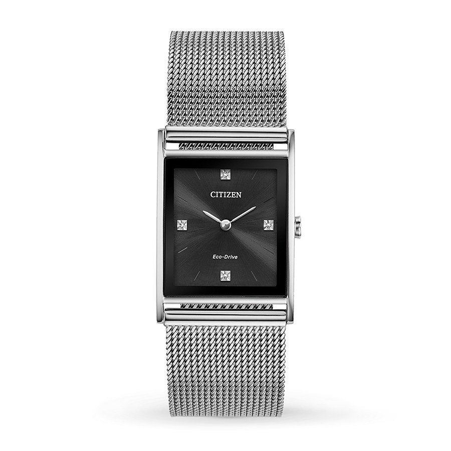 Citizen Eco-Drive Axiom Mesh Mens Watch
