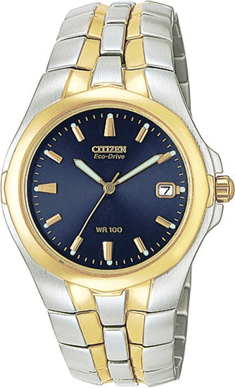 Citizen Eco-Drive 180 Two Tone Mens Watch BM0194-53L