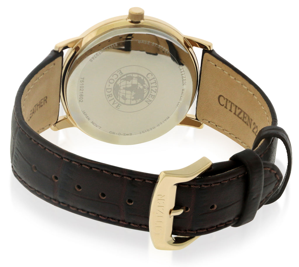 Citizen Eco-Drive Rose Gold-Tone Mens Watch