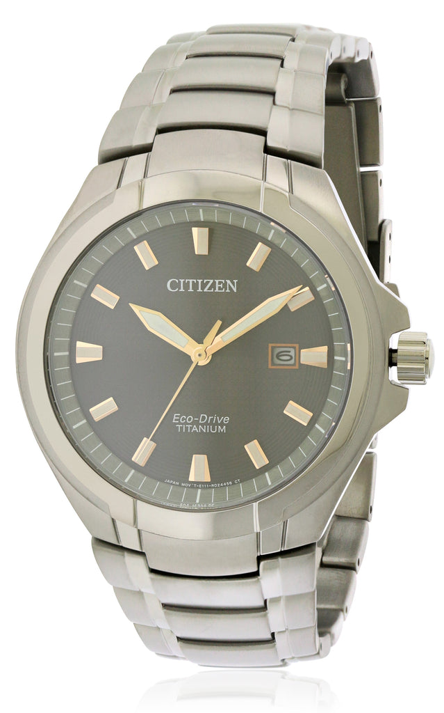 Citizen Eco-Drive Paradigm Titanium Mens Watch