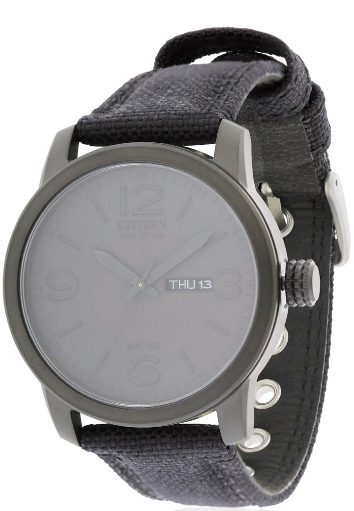 Citizen Eco-Drive Canvas Mens Watch