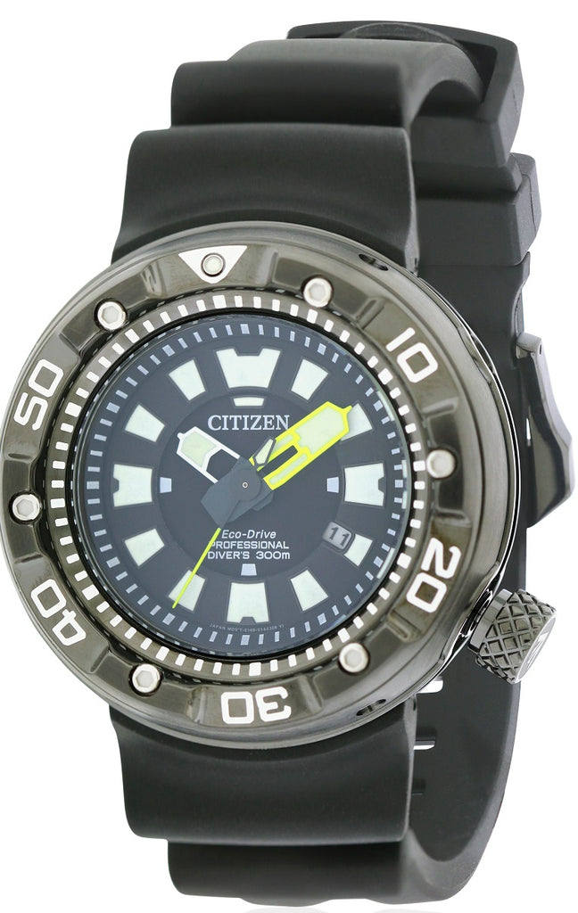 Citizen Eco-Drive Promaster Dive Rubber Mens Watch