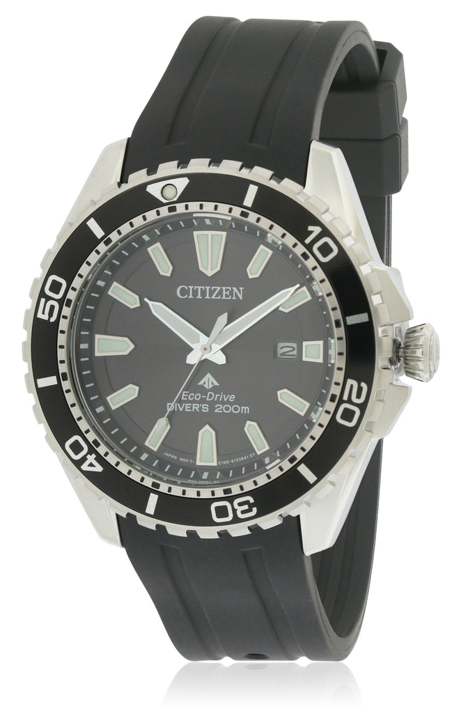 Citizen Eco-Drive Polyurethane Diver Mens Watch