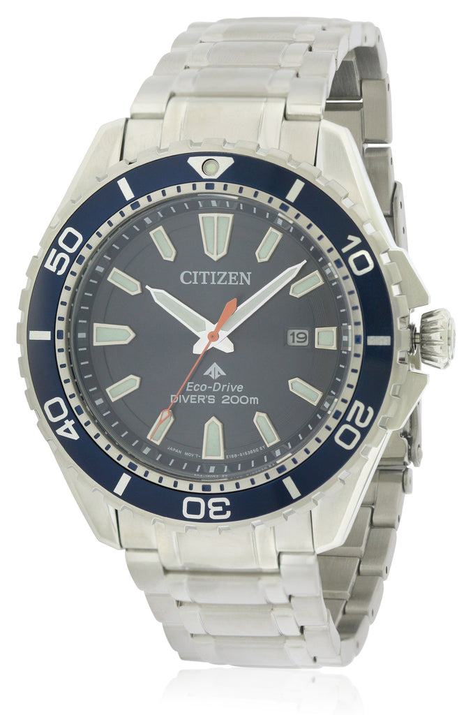 Citizen Eco-Drive Promaster Diver Stainless Steel Mens Watch