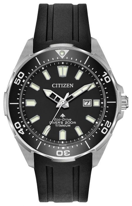 Citizen Eco-Drive Promaster Titanium Black Mens Watch