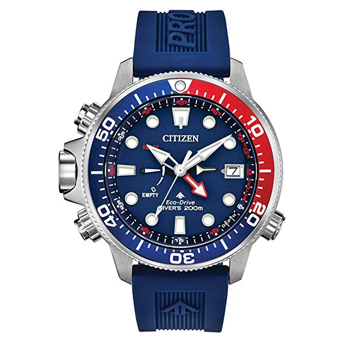 Citizen Eco-Drive Promaster Aqualand Dive Rubber Mens Watch