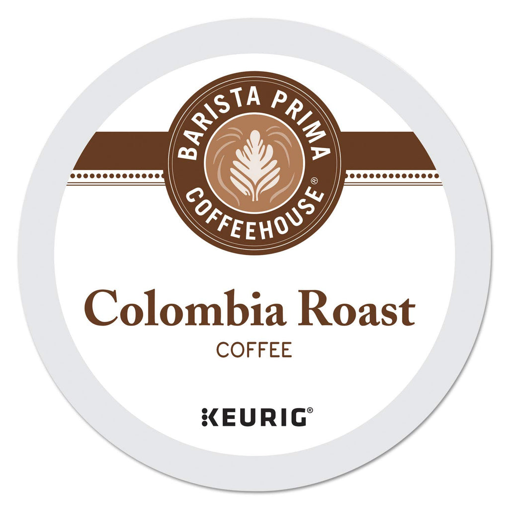 Barista Prima Coffeehouse Medium Dark Roast Extra Bold K-Cup for Keurig Brewers Colombia Coffee 24 count (Pack of 4) (Packaging May Vary)