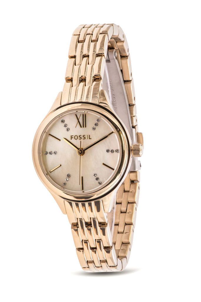 Fossil Suitor Mini Gold-Tone Ladies Watch
