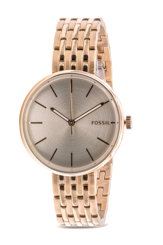 Fossil Hutton Gold-Tone Ladies Watch