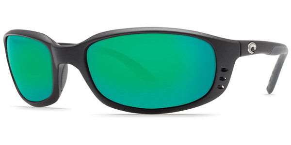 Costa Del Mar Brine Polarized Matte Black Unisex Sunglasses