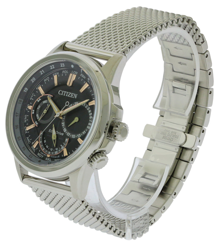 Citizen Eco-Drive Calendrier World Time Mens Watch