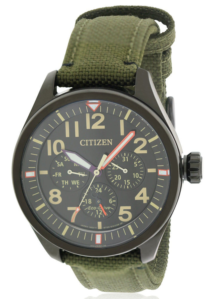 Citizen Eco-Drive Military Nylon Mens Watch