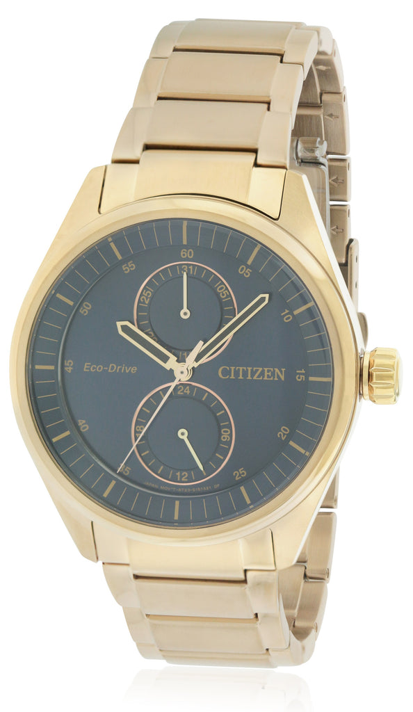Citizen Eco-Drive Paradex Rose Gold-Tone Mens Watch