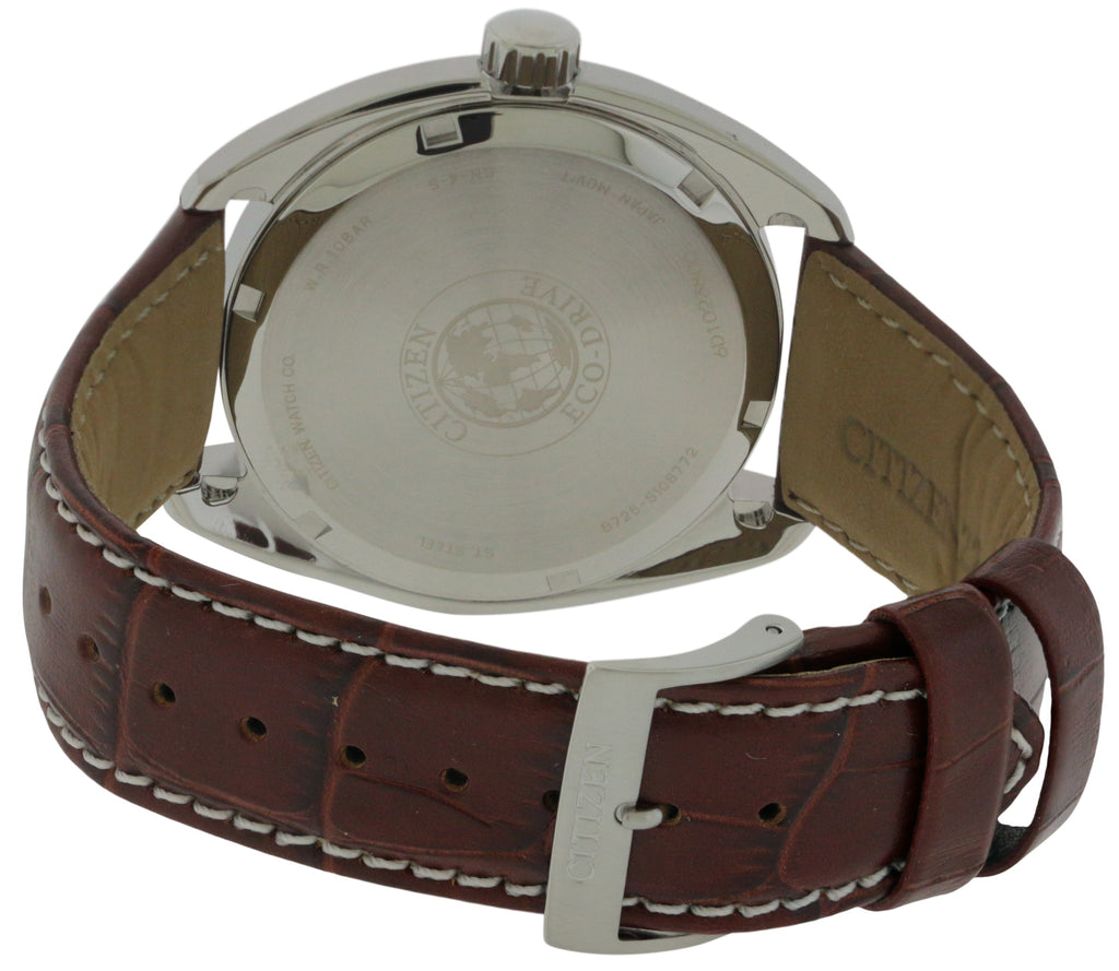 Citizen Eco-Drive Paradex Leather Mens Watch