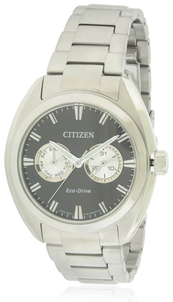 Citizen Eco-Drive Paradex Stainless Steel Mens Watch