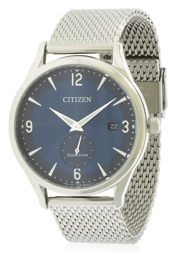 Citizen BTW Blue Dial Mens Watch