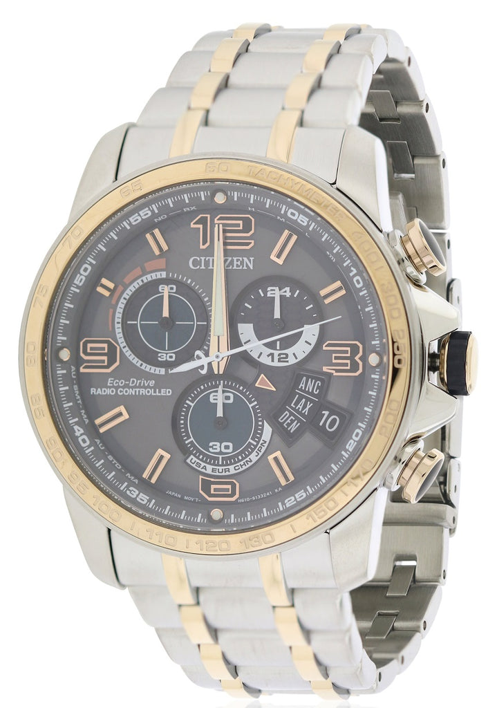 Citizen Chrono Time AT Stainless Steel Mens Watch