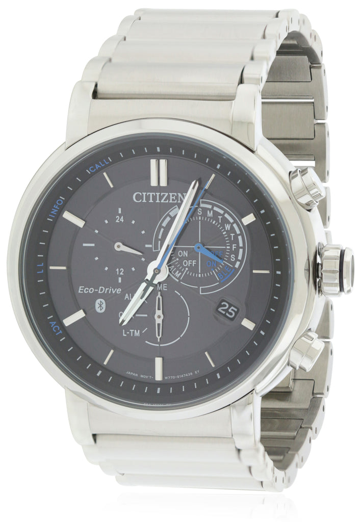 Citizen Eco-Drive Proximity Chronograph Perpetual Mens Watch