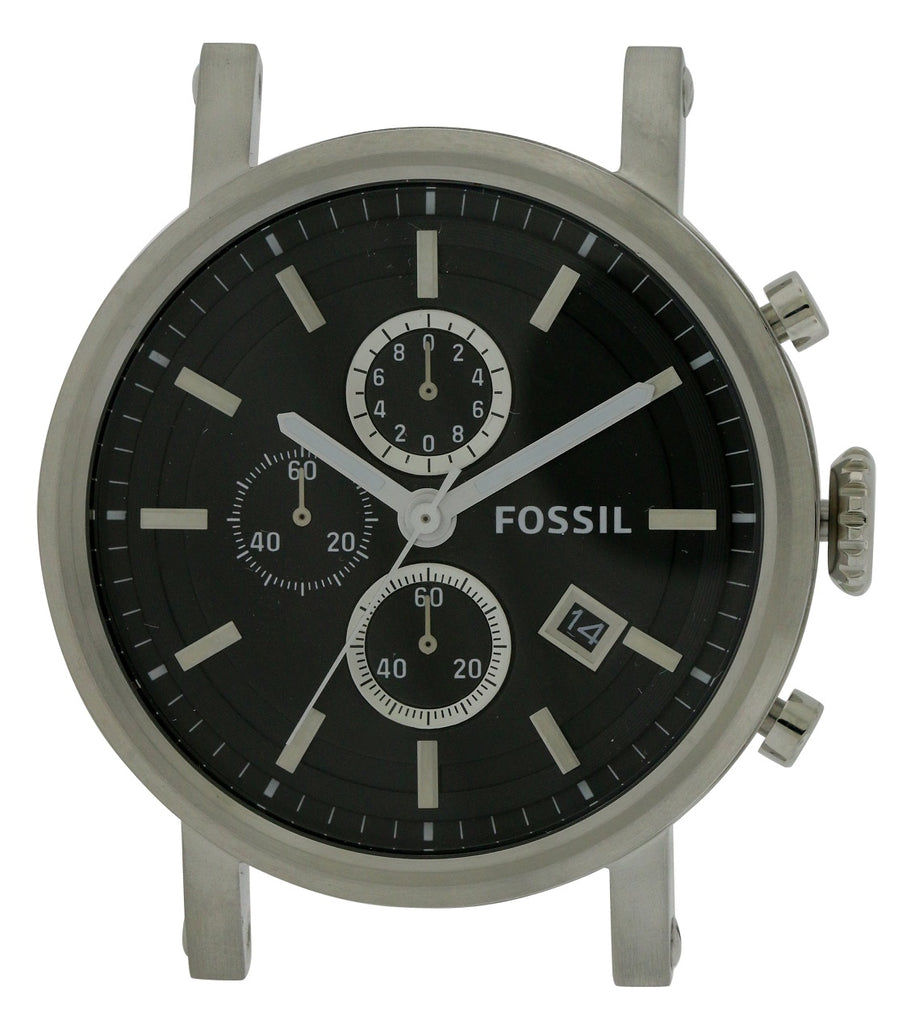 Fossil Stainless Steel Chronograph Mens Watch Case