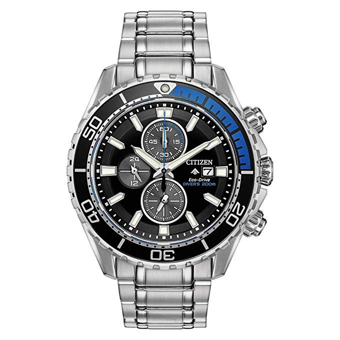 Citizen Eco-Drive Promaster Chrono Diver Mens Watch CA0715-03E