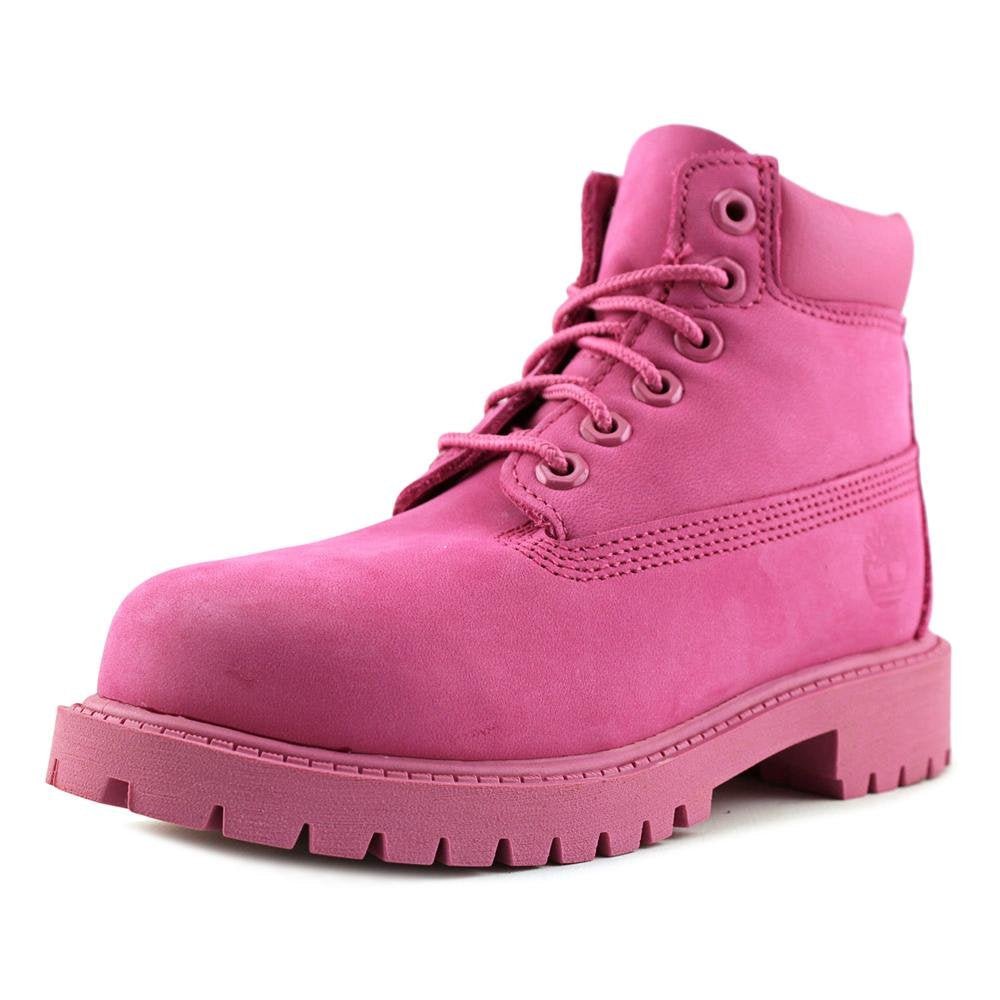 Timberland CA14YQ Kids 6-Inch Premium Waterproof Boot -  Pink -  5.5 M US Big Kid