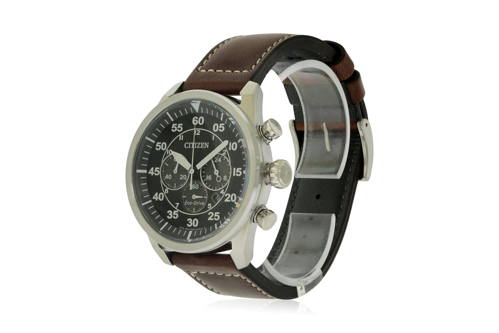 Citizen Eco-Drive Avion Mens Watch