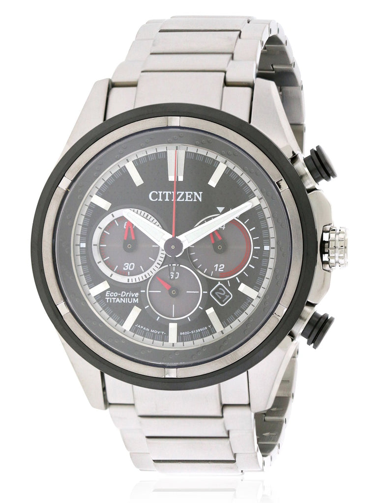 Citizen Eco-Drive Ti+IP Mens Watch