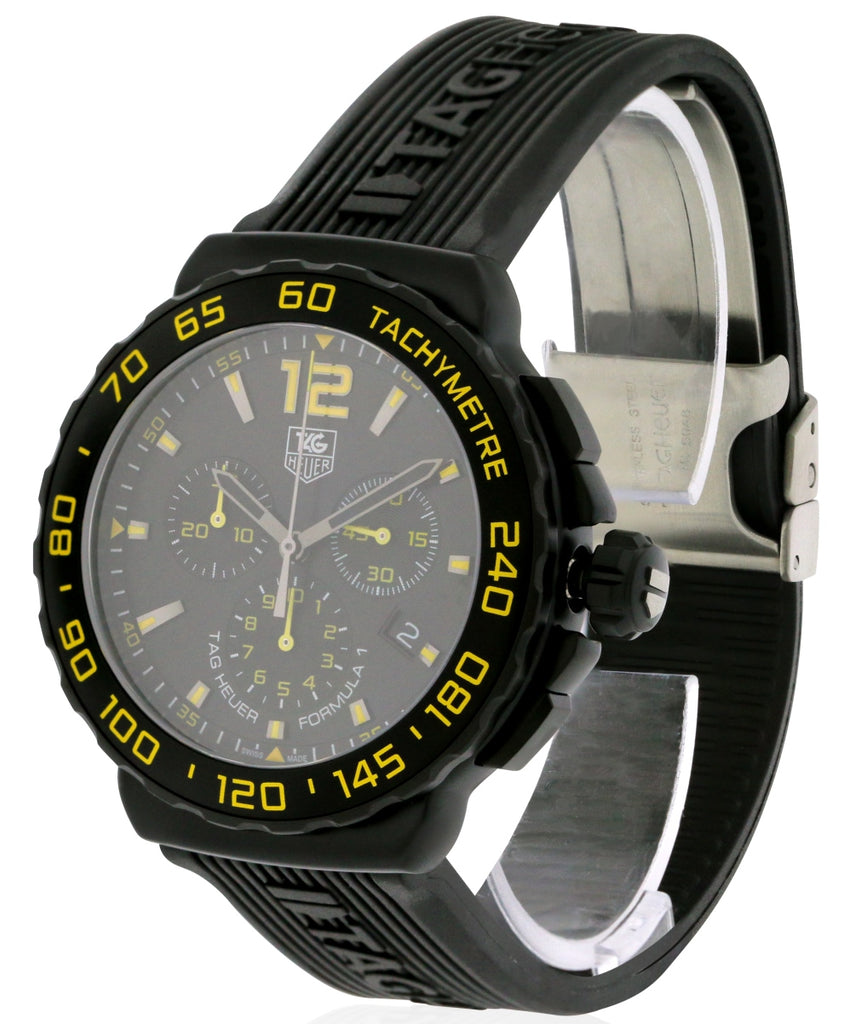 Tag Heuer Formula 1 Rubber Chronograph Mens Watch