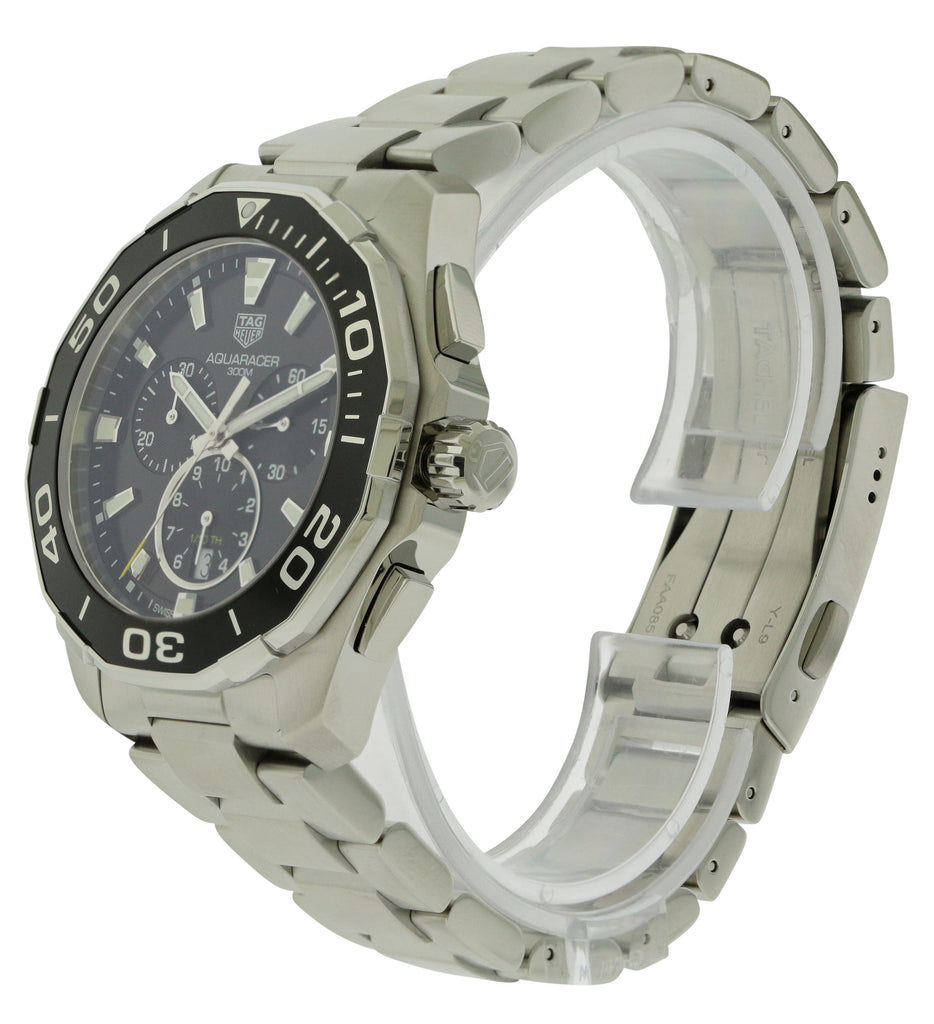 Tag Heuer Aquaracer Chronograph Stainless Steel Mens Watch
