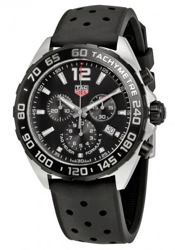 Tag Heuer Formula 1 Chronograph Rubber Mens Watch