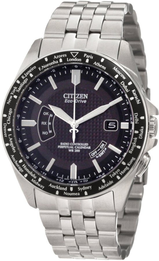 Citizen Eco-Drive World Perpetual AT Mens Watch CB0020-50E