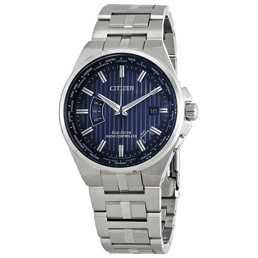 Citizen Eco-Drive World Perpetual A-T World Time Mens Watch CB0160-51
