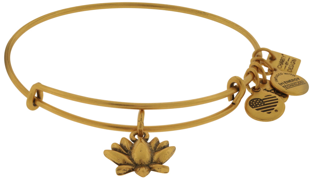 Alex and Ani Charity By Design Lotus Blossom Bangle Bracelet  -