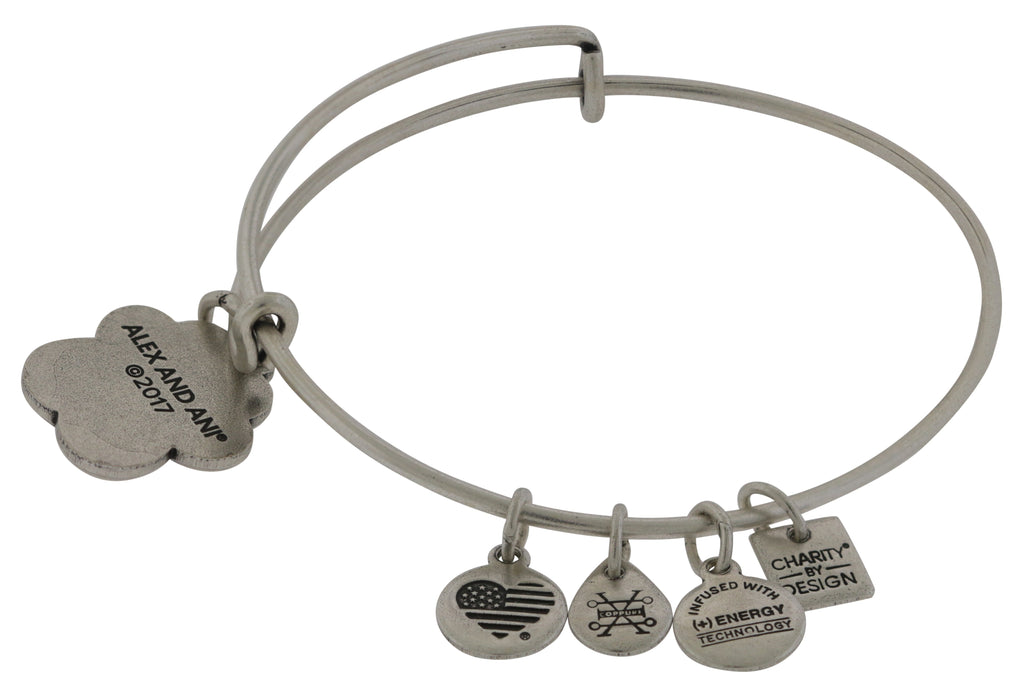 Alex and Ani Prints of Love Charm Bangle ASPCA - Rafaelian Silver -