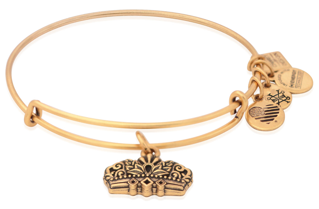 Alex And Ani Charity By Design - Queens Crown IV EWB - RG Bracelet -