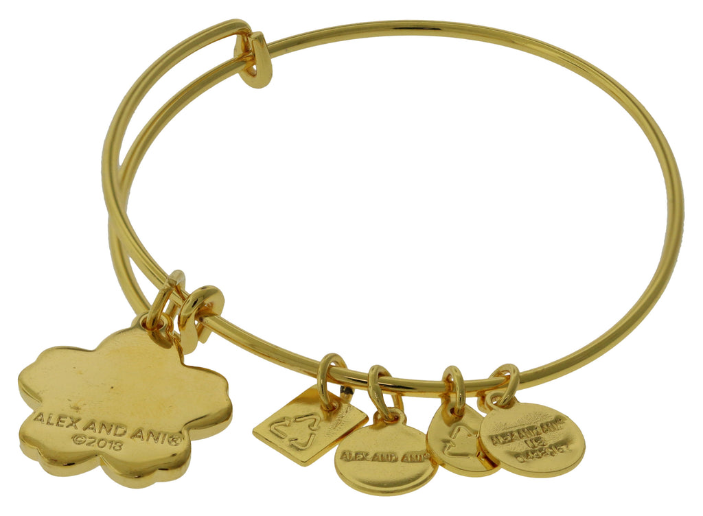 Alex and Ani Forget Me Not Charm Bangle -