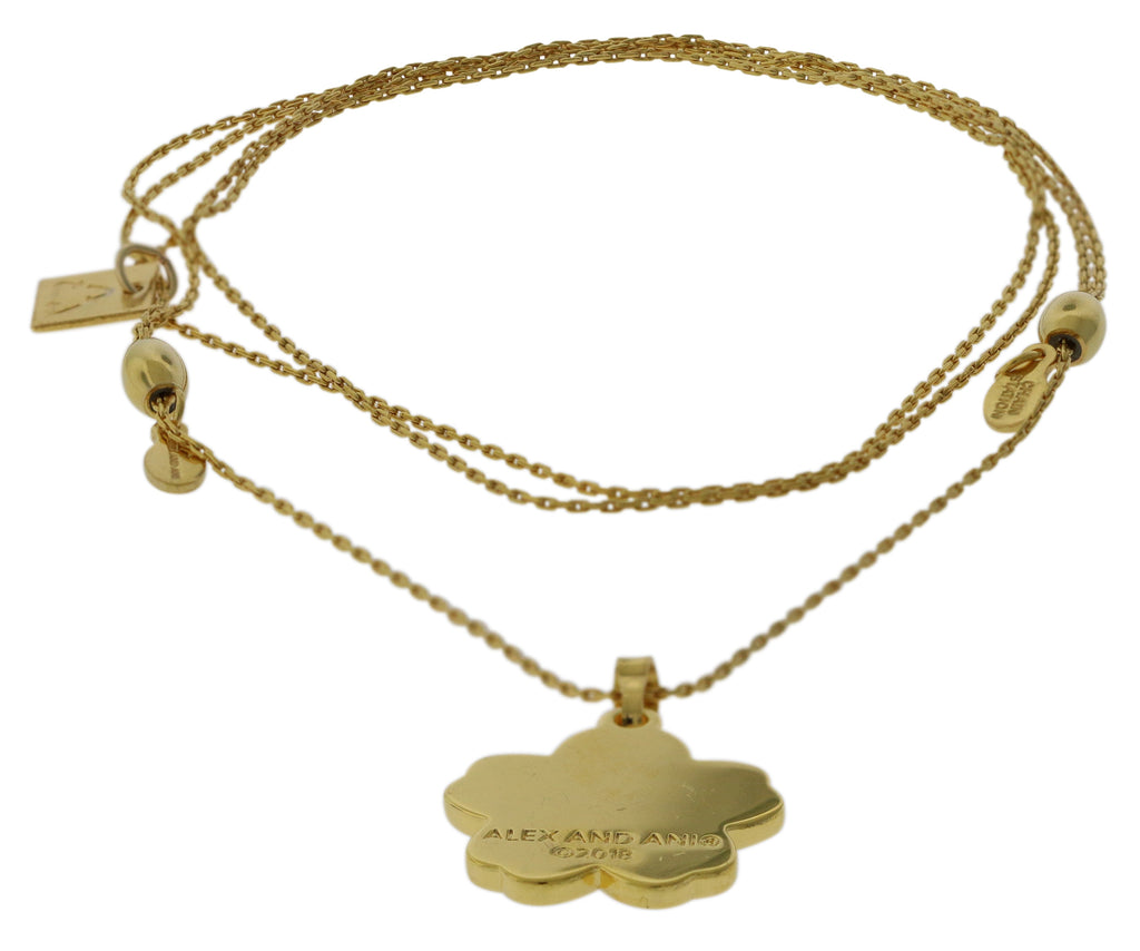Alex and Ani Armenian Flower Expandable Necklace -