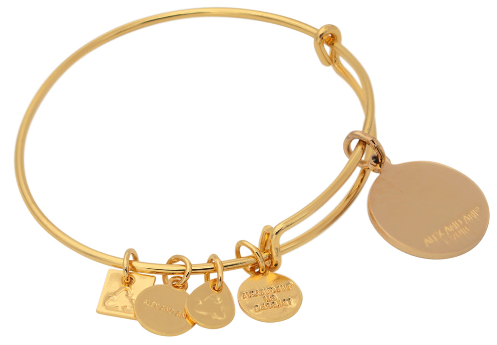 Alex and Ani Life is Good Charm Bangle -