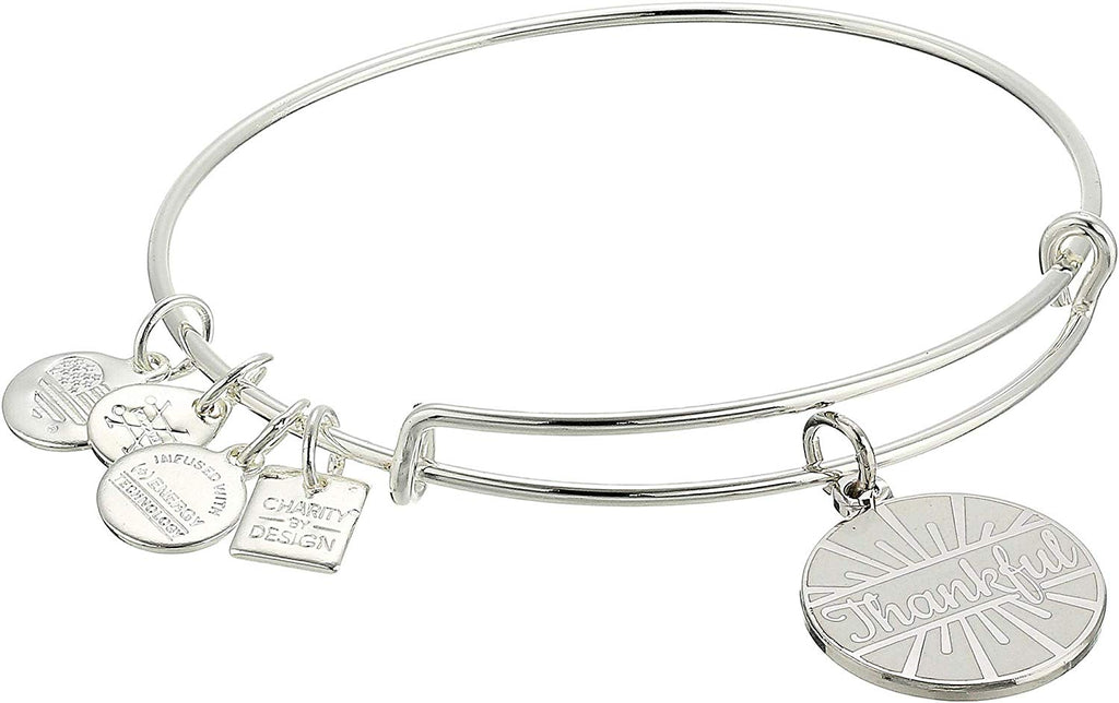 Alex and Ani Charity Design Today Is A Gift Bangle -
