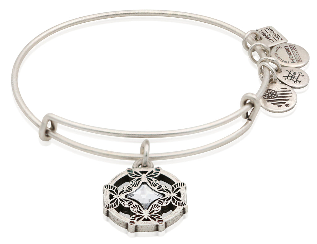 Alex and Ani Charity By Design, Wings Of Change Charm Bangle