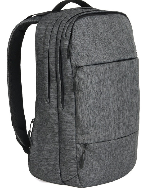 Incase Designs City Backpack for 17 Inch MacBook Pro - Heather Black/Gunmetal Gray -