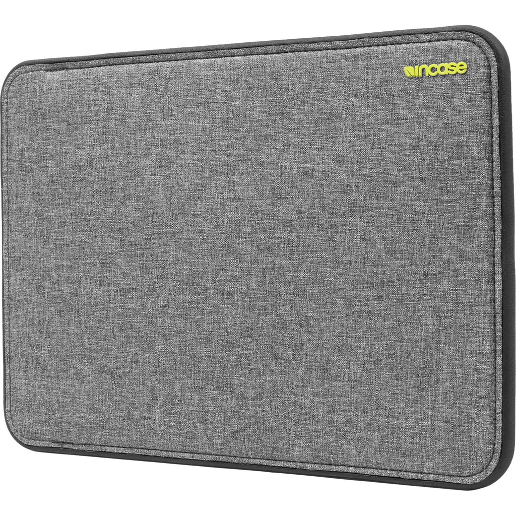 Incase Designs ICON Sleeve with TENSAERLITE for 15 Inch MacBook Pro Retina - Heather Gray / Black -