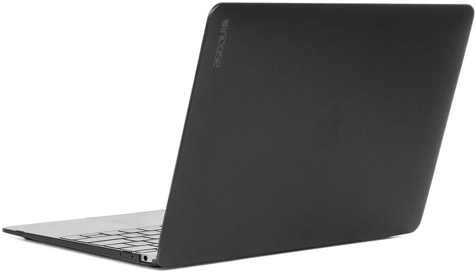 Incase Designs Corp Hard-Shell Case for MacBook 12 Inch - Dots-Black Frost