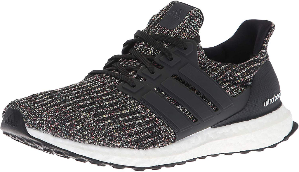 adidas Mens Ultraboost Running Shoe - Black/Carbon/Ash Silver - Size 9.5