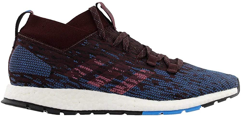 adidas Mens Pureboost RBL Running Shoes - Night Red/Trace Maroon/Core Black - 10