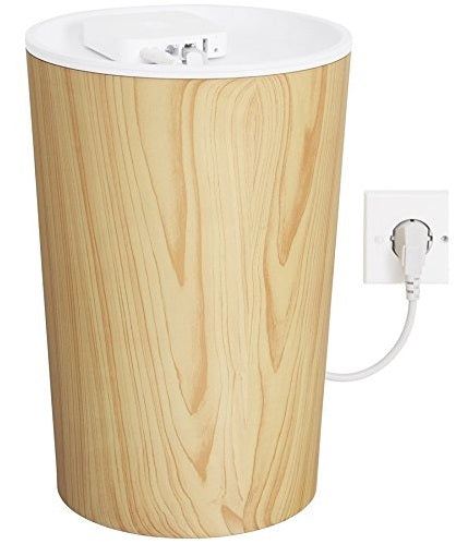 Bluelounge CableBin - Cord and Cable Organizer- Flame Retardant Plastic - Light Wood Look