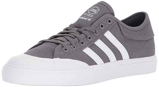 adidas Originals Unisex Matchcourt Running Shoes - Grey Four/White/Gum - 10 M